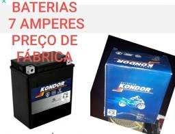 Baterias 7 amperes preço de fábrica