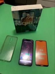 Celular Nokia X6 6.1 Plus Dual Sim 64 Gb Preto 6 Gb Ram