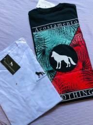 Camisetas preço atacado