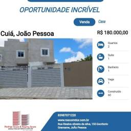 Casa Duplex para Venda em João Pessoa, Cúia, 2 dormitórios, 1 suíte, 1 banheiro, 1 vaga