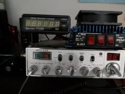 Rádio amador Mega Star, Any Tone, Yaesu, Cobra, PX vários.