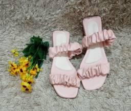 Sandália feminina rasteirinha