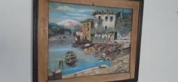quadro do  pintor Tomaz A.Ribas 1986