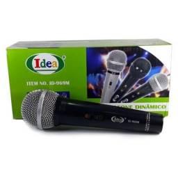 Microfone com fio idea