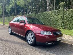 Título do anúncio: Audi A3 1.8T 2001 2p, manual com teto (cor rara)