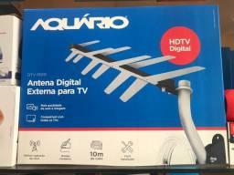 Antena digital com 10 metros cabo