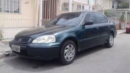 Honda Civic EX 1.6 Automático- Raridade - 1999