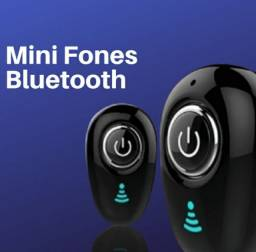 Mini Fone com Microfone com Bluetooth