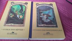 """Livros 2 e 3 da coleção """"Desventuras em série"""""""