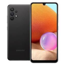 Samsung A32 black lançamento 2021 vendo ou troco por iPhone 7 128 gb
