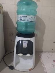 Bebedouro de Água Libell Stilo Hermético com Compressor Branco e Fume - 127V