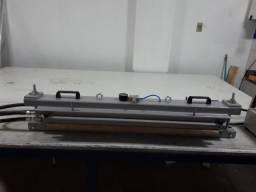 Prensa para emenda em correias de PVC/ PU