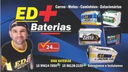 Baterias automotivas e o melhor atendimento você encontra aqui na ED+ BATERIAS!!!
