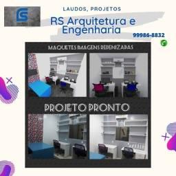 Projetos Arquitetônicos, Laudos, Engenharia e Design