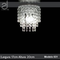 Lustre Cristal Acrílico De Alto Brilho 17x20cm Campo Xxi