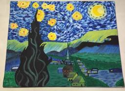 Título do anúncio: Quadro ?A noite estrelada? de Van Gogh