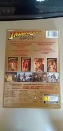 4 DVDS Novos Indiana Jones Edição de Colecionador