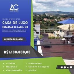 Santa Luzia - Casa Padrão - Condomínio Estância dos Lagos