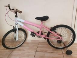 Bicicleta aro 20 - Bike infantil com rodinha