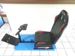 cockpit playset cadeira e suporte volante