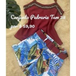 Título do anúncio: Conjunto Pedraria por $ 59,90