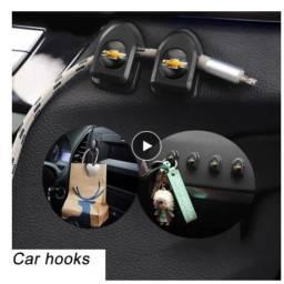Título do anúncio: Acessorios Colante Painel Carro Porta Objtos Chevrolet 4pçs
