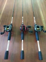 Vendo equipamentos de pesca