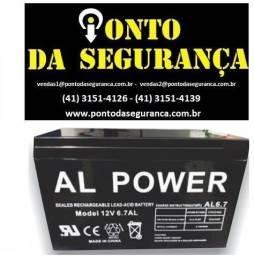 bateria 12v 7a all power
