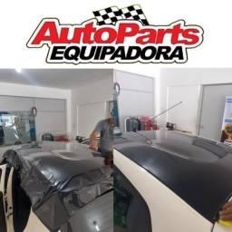 Adesivo envelopamento automotivo teto - capô - coluna - soleira - Preço imbatível