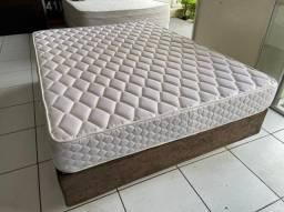 cama box casal - densidade 45 - American Flex - entrego