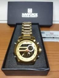 Relógio de luxo masculino Naviforce