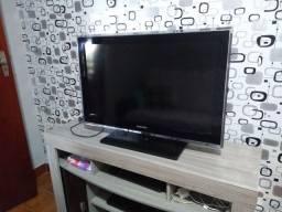 """TV Samsung 32"""" com display queimado"""