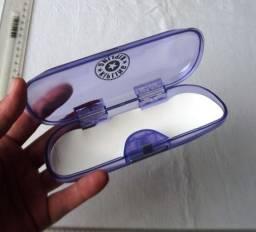 Case Caixinha de Óculos Marca Kipling - Lilás - Usada