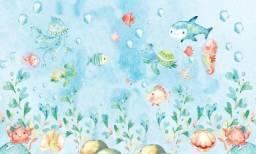 Título do anúncio: Painel fundo do mar