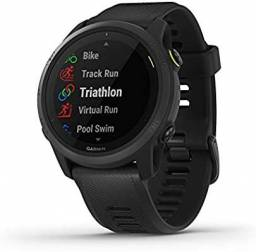 Relogio Garmin Forerunner 745 music Triathlon lançamento 2021