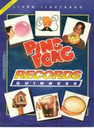 Albuns Ping Pong , Rei Leão , Records Guinness+ revistas de games