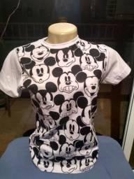 Camisetas personagens