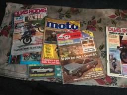 Revistas 2 Rodas e 4 Rodas - Antiguidade