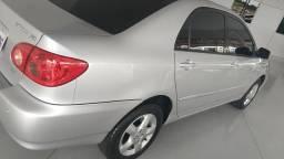 Toyota Corolla Xei 1.8 2005/05 automático Prata Raridade - 2005