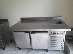 Refrigerador Horizontal 2 portas com Cuba Refrigerada PPIENK