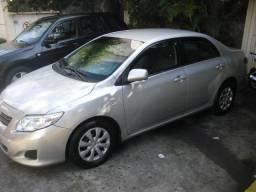 Corolla 2009 automatico flex +blindado+completo - 2009