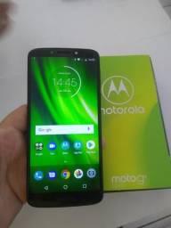 Moto G6 Play Índigo Android 8.0 32gb na Caixa com Nota Fiscal