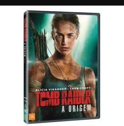 Dvd tomb raider - original e novo