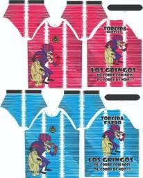 Uniformes de futebol personalizado agasalhos e camisas de torcidas