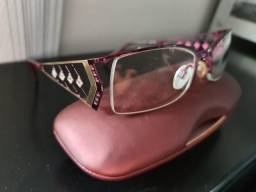 Armação de Óculos Feminino Usado