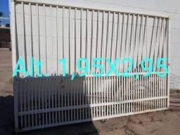 Portão em PVC