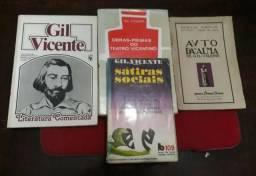 4 Livros da obra de Gil Vicente