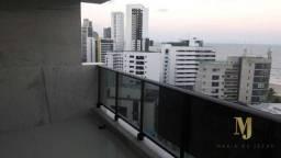Apartamento com 4 dormitórios para alugar, 181 m² por r$ 9.500/mês - boa viagem - recife/p