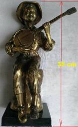 Estatueta -Tocador de Banjo