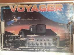Rádio Px Voyager Vr-94 e Amplificador Silver 777 Plus